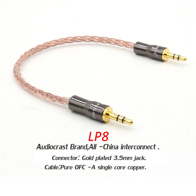 17cm  3.5mm Jack Audio Cable Gold Plated Jack 3.5 mm Male to Male Cloth Audio Aux Cable For iPhone Car Headphone Beats Speaker
