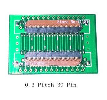 39 P extender hembra paso de 0,3 MIPI 39 P FPC conector de extensión de conector 39 Pin FPC cable alargar adaptador 0,3mm 39 P 39 P extensión conjunta
