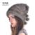 YCFUR 2016 Chapéus De Natal Para As Mulheres Genuína Pele De Vison Tampas Com Pompons De Peles Gorros Chapéu de Inverno Mink Naturais