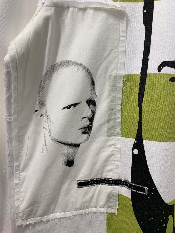 19ss Owen seak hommes sweat à capuche en coton Sweatshirts gothique surdimensionné vêtements pour hommes automne solide blanc Hoodies chemise de fond - 3