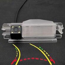 Интеллектуальная динамическая траектория треков HD камера заднего вида для Renault Pulse Clio 2 Logan Sandero Stepway
