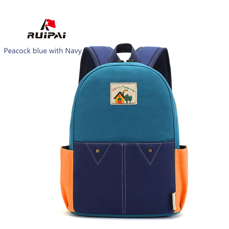 e2208aa77fe Image RUIPAI Backpack Schoolbag For Girls Boys Comfortable Canvas Kids Baby  s School Bags Kindergarten Backpack
