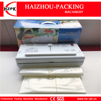 HZPK Simple Manual Sealer Household Best Vacuum Sealer Vacuum Packing Sealing Machine With Vacuum Sealer Bags For Food (DZ 280)