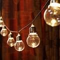 novelty 20 LED 6M Clear Globe Festoon Party Fairy String Lights Christmas Lights Holiday Garland Lights String EU AU US UK PLUG