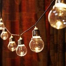 Novedad 20 LED 6 M Globo Claro Adorno Party Luces de Hadas de Cuerda Luces de Vacaciones de navidad Luces de Cadena Garland AU de LA UE EE.UU. REINO UNIDO PLUG