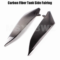 New Motorcycle Carbon Fiber Tank Side Cover Panel Fairing For Yamaha YZF R1 2004 2005 2006