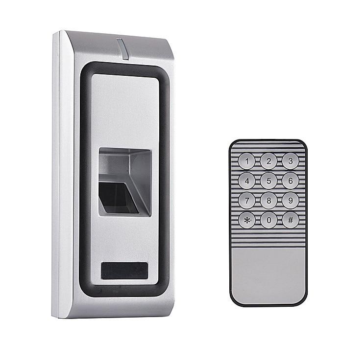 Metal Case Anti-Vandal Remote Standalone Waterpoof Biometric Fingerprint Access Control Reader System biometric fingerprint access controller tcp ip fingerprint door access control reader