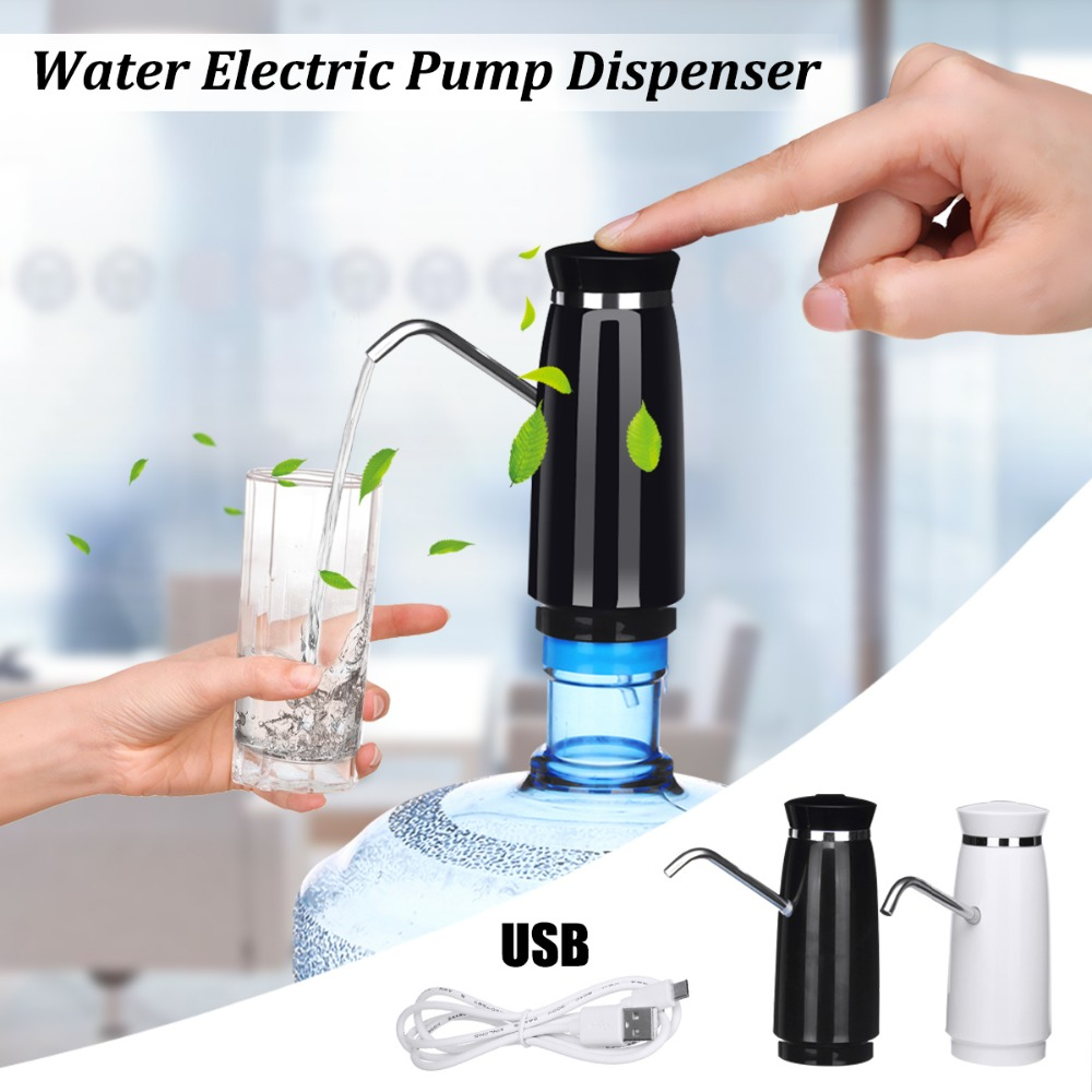 Wireless Automatic Electric Portable Water Pump Dispenser Gallon Drinking Water Bottle with Switch electric water dispenser portable gallon drinking bottle switch smart wireless water pump water treatment appliances