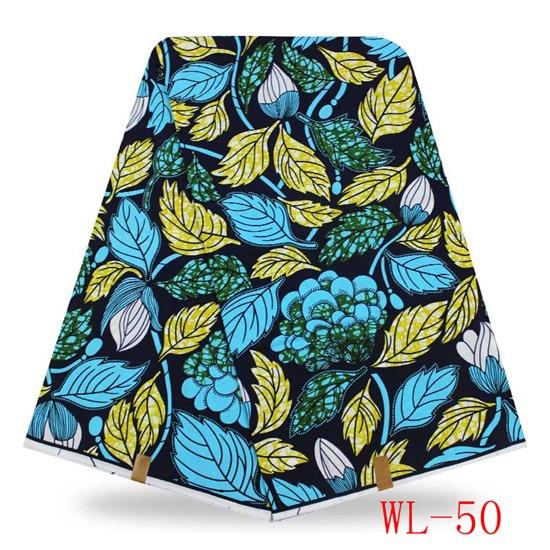 0909ecfc10 Amarillo brillante cera Africana imprime tela de algodón de moda africano  tela de la cera verdadera del envío libre