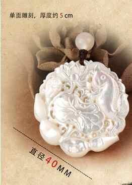 Può scegliere il colore bianco dei monili del pendente borsette lumaca lische di pesce per tutto l'anno con pesce collana della catena del maglione vento cinese