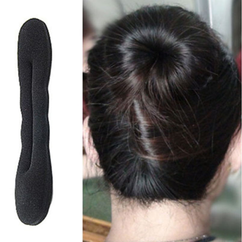 kai yunly 1PC Hot Fashion Womens Sponge Disc Hair For Bud Head Meatball Head Large Model