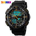 Men Running Sports Watches Fashion Men's Gift Quartz Watch LED Digital Military Waterproof Wristwatch Relojes Clock SKMEI 1109