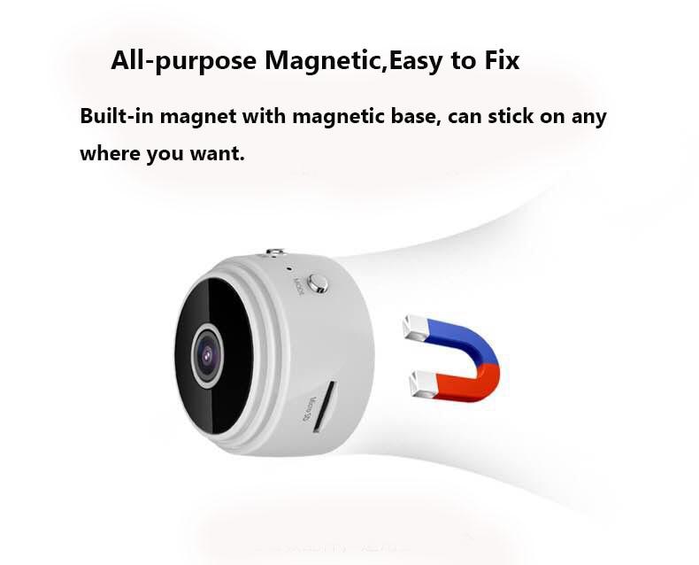 цена на Mini WiFi Camera DV Cam 1080P Full HD Night Vision Small Portable Sports DV Camcorder,free shipping