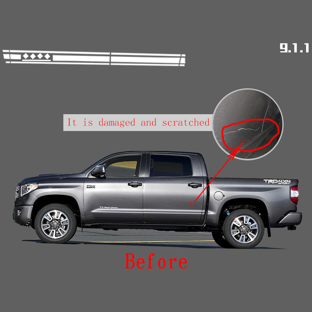 Para Chevrolet Colorado Silverado Pegatinas Coche Que Labra la ...