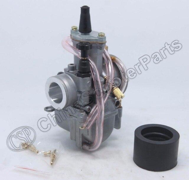 21mm carb carburador para oko koso pwk 21 pwk21 jog dio RTL250 CR80 CR85R CR125 NSR50 NSR80 DT100 125 175 Scooter de Sujeira bicicleta