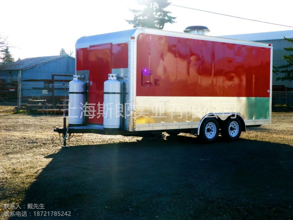 biaxial Hot Sale Food Trailer/Mobile Food Cart/Food Truck, mobile ...