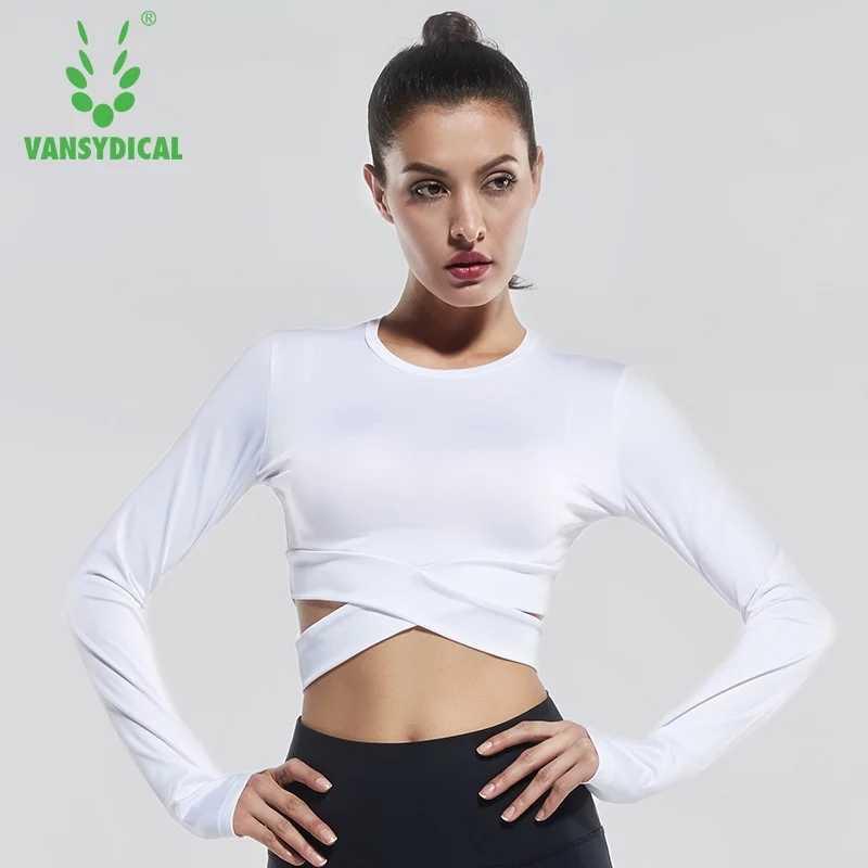 3ccbbe8510f5 Подробнее Обратная связь Вопросы о Vansydical Для женщин шорты для занятия  йогой с длинным рукавом спортивная одежда для бега Фитнес тренировки  спортивные ...