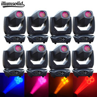 8Pcs/lot High quality professional 200W Stage light dj dmx rgb led wash moving head DJ dmx512 Controller disco ball party light