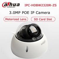Dahua 3MP IPC HDBW2320R ZS POE IP Camera Vandalproof Dome 2 7 12mm Motorized Lens With
