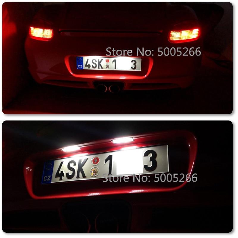 License Plate Light LED Car Side Light for Seat XL Freetrack Exeo Sedan ST Ibiza 6J Cupra Bocanegra FR Leon 1P in Signal Lamp from Automobiles Motorcycles