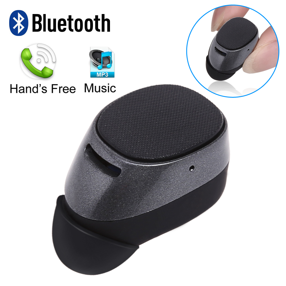 1pcs Invisible Mini 7 Wireless Bluetooth Headset In Ear Earphone Stereo Earbud With Mic For iPhone 7 6S HuaWei Xiaomi Tablet Etc qcy q26 mono earbud business mini headset car calling wireless headphone bluetooth earphone with mic for iphone 6 7 s8 android