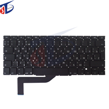 "A1398 Ru keyboard for macbook pro 15.4"" Russian Russia keyboard layout without backlight backlit 2013 2014 2015year"