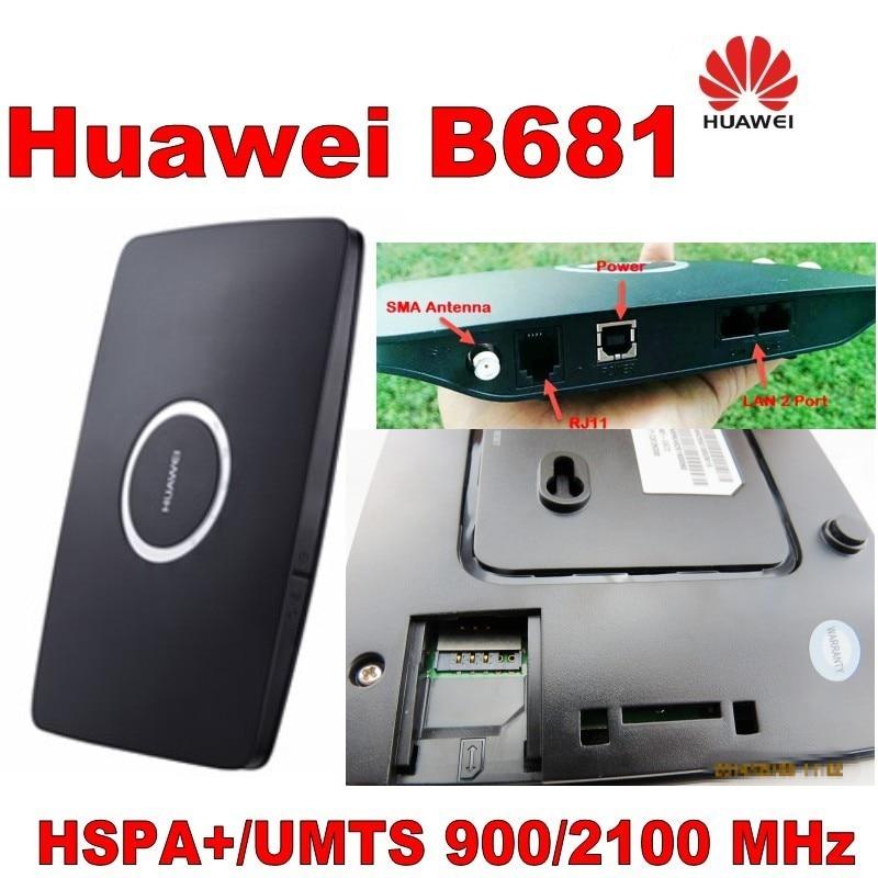 Huawei B681 HSPA + 900 / 2100Mhz 28.8Mbps უკაბელო - ქსელის აპარატურა - ფოტო 5