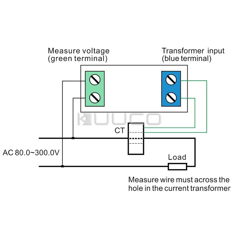 small resolution of digital tester 4in1 ac voltmeter ammeter power meter energy meter multifunction monitor meter