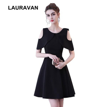 teens short cheap elegant sweet 16 pretty black semi formal cocktail party  dresses for girls women 28fc3f95b1c2