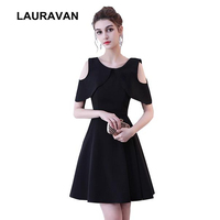 teens short cheap elegant sweet 16 pretty black semi formal cocktail party dresses for girls women 2019 teen formal gown