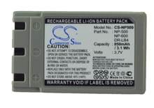 Cameron sino 850mah batterie pour KONICA Revio KD-310 310Z 400Z 410Z 420Z 500Z 510Z DR-LB4 pour MINOLTA DiMAGE G400 G500 G530 G600