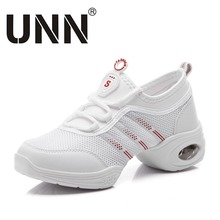 tenis feminino white black dancing shoes air height increasing women casual shoes breathable mesh zapatos lace
