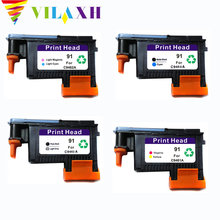 vilaxh 91 print head Replacement For HP 91 For DesignJet Z6100 Z6100P Printhead C9462A C9463A C9460A C9461A hp 91 c9461a magenta yellow