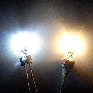 Купить с кэшбэком 5X HRSOD G4 3W 24 SMD 2835 270 LM Warm White Cold White LED Bi-pin Lights DC 12 V