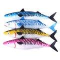 Приманка для Глубоководной Рыбалки 35 см 110 г идеальная 3D Мягкая приманка для рыбалки силиконовая приманка для плаванья приманка для морской...