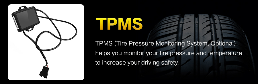 Car Monitor TPMS only fits for our store Android 7.1/8.0 car DVD players