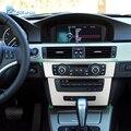 Панель управления Airspeed для автомобиля AC  CD панель  наклейка  крышка консоли  рамка  отделка с навигацией для BMW E90 3 серии 2005-2012  автомобильный ...