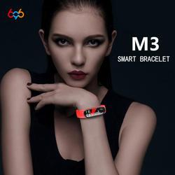 696 M3 smart Фитнес браслет Цвет экран IP67 Водонепроницаемый измерять Кровяное Давление Кислорода Монитор Сердечного Ритма sport Smart band ios android