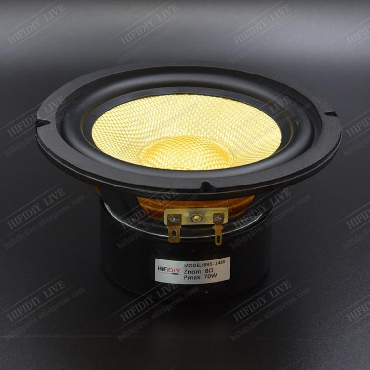 HI FI DIY LIVE BK5 146S HIFI 5 inch 5 5 Midbass Woofer speaker Unit 4
