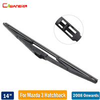 Cawanerl Car Styling Rubber Rear Window Wiper Blade 1 Piece 14 Back Windscreen Wiper For Mazda