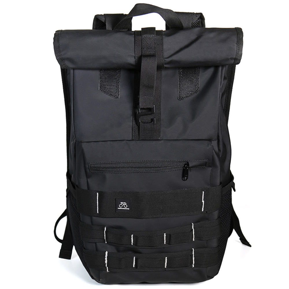 Tide brand street backpack male large capacity backpack college student bag  outdoor hiking backpack travel luggage 50d87b1208