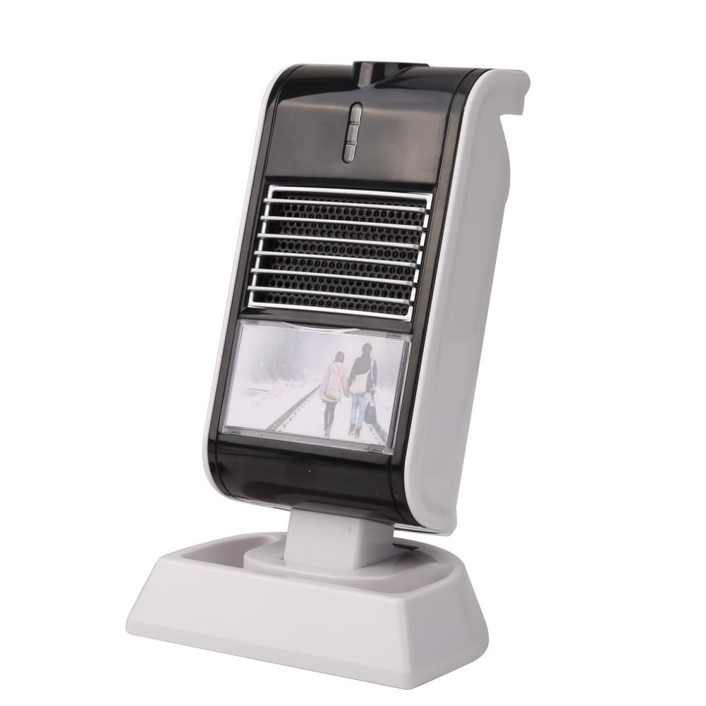 где купить  Portable Mini Electric Desktop Heater Fan Handheld Heat Browser Air Warmer Heating Winter Keep Warm Desk Fan For Office Home  по лучшей цене