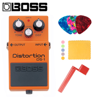 BOSS DS 1 Distortion Pedal, Distortion Effects Pedal for Guitar, Bass, Keyboard with Distortion, Level, and Tone Controls