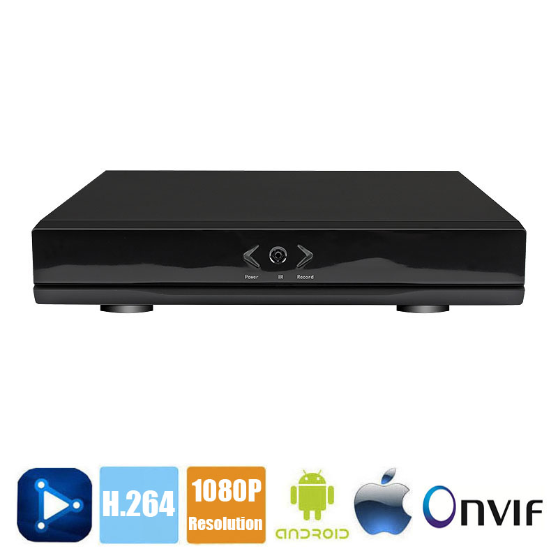 4 / 8 / 16 Channel Mini HD 1080P NVR Network Video Recorder Multi language 4CH 8CH CCTV NVR for IP Camera Support CMS ONVIF P2P