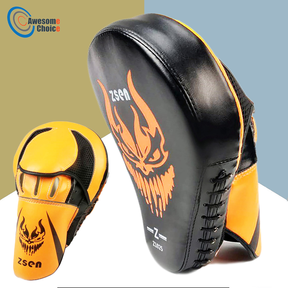 Martial Arts Sanda Boxing Training Target Mitt Focus Pad Sandbags MMA KKick Boxing Karate Muay Punching Bag Lightweight Boxing