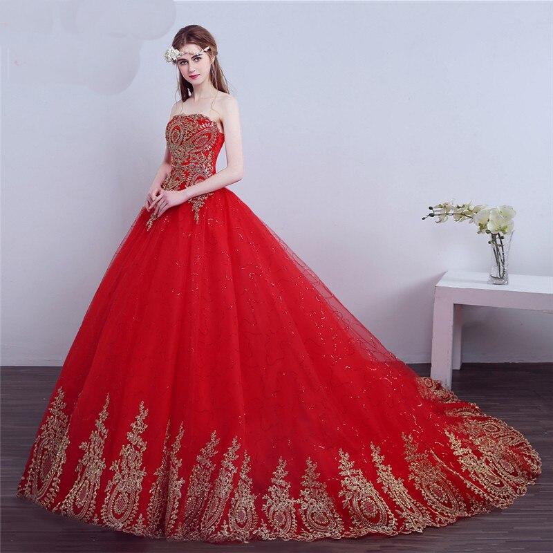 Ungewöhnlich Red Hochzeitskleid Bilder Galerie - Brautkleider Ideen ...