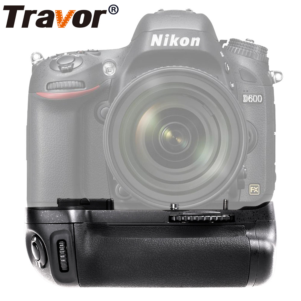 Travor Vertical Battery Grip holder for Nikon D600 D610 DSLR Camera work with EN-EL15 battery replacement MB-D14 travor vertical battery grip holder for nikon d850 mb d18 dslr camera battery handle work with en el15 battery
