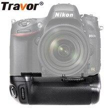TRAVOR вертикальный Батарейная ручка держатель для Nikon D600 D610 DSLR Камера работать с EN-EL15 замены батареи MB-D14