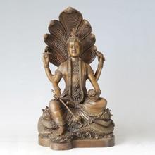 ATLIE BRONZES bronze sculpture buddha statue Nagarjuna bodhisattva Buddhism theory propagator temple decoration BD-101