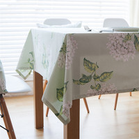 Hot Sale Pure Cotton Jacquard Tablecloths Rectangle Farmhouse Style Table Cloth Restaurant Wedding Party Decoration Tables